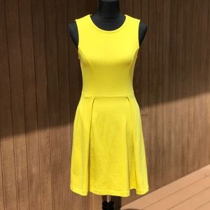 Kate Spade Saturday Yellow Swing Dress